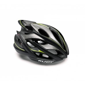 Casque Rudy Project WINDMAX  BLACK-YELLOW FLUO-WHITE-MATTE L
