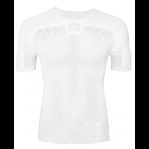 Sous-vêtement homme Megmeister à manches courtes blanc S/M