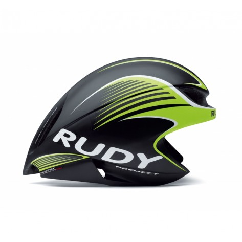 Casque Rudy Project WING57 BLACK-LIME FLUO MATTE + VISIERE L