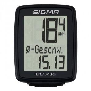 Compteur Sigma BC 7.16 fil