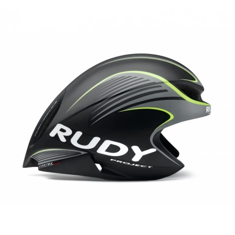 Casque Rudy Project WING57 BLACK-YELLOW FLUO MATTE + VISIERE L