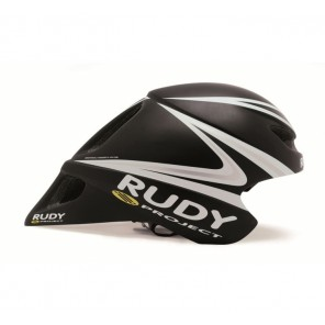 Casque Rudy Project WINGSPAN BLACK-WHITE-SILVER MATTE UNISIZE 54-59
