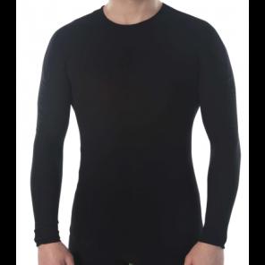 Sous-vêtement homme Megmeister hiver manches longues BLACK S/M