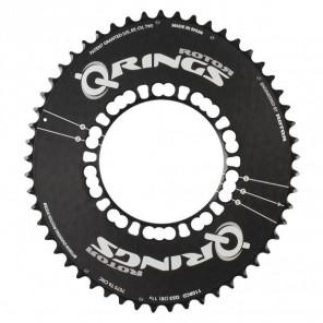 Plateau Rotor Q-rings Aero 53 - BCD130x5 - black