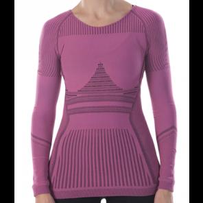 Sous-vêtement femme Megmeister hiver à manches longues Pink XS/S