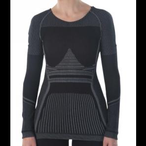 Sous-vêtement femme Megmeister hiver à manches longues Black M/L