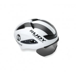 Casque Rudy Project Boost 01 WHITE - GRAPHITE MATTE S/M + VISIERE