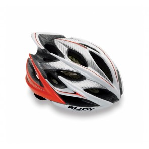 Casque Rudy Project WINDMAX  WHITE-RED FLUO SHINY S/M