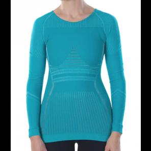 Sous-vêtement femme Megmeister hiver à manches longues Baltic Blue XS/S