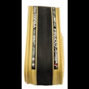Pneu Vittoria Corsa 700x28 Souple Noir/beige Graphene+