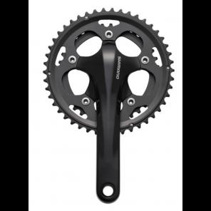 Pédalier Cyclo cross Shimano FC-CX50 46/36 175 mm Noir