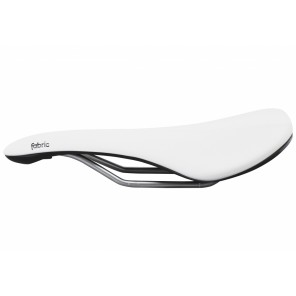 Selle Fabric Scoop Shallow elite White/Black