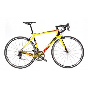 Vélo Wilier GTR SL YELLOW RED GLOSS CHORUS 2016 (CRANK 2015 53/39) KHAMSIN
