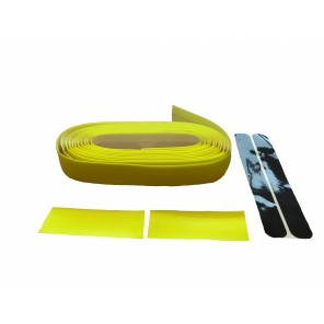 Ruban de guidon Time Jaune fluo