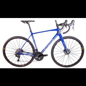 Vélo complet gravel Bertin C132 bleu/gris
