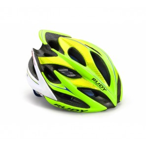 Casque Rudy Project WINDMAX  LIME FLUO-BLUE SHINY S/M