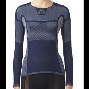 Sous-vêtement femme Megmeister hiver à manches longues NAVY XS/S