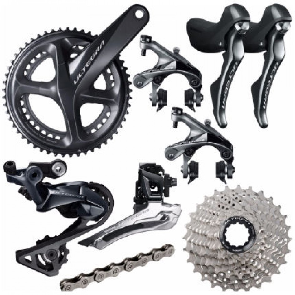 ac9b80be648 Groupe Shimano Ultegra 8000 172,5 52/36 11/28 Pressfit - Groupes ...