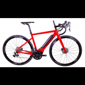 Vélo complet électrique Bertin E-10 Rouge/noir avec motorisation Polini