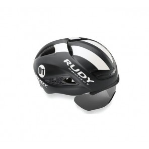 Casque Rudy Project Boost 01 Black - White (Matte) S/M + VISIERE