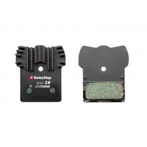 Plaquettes Swissstop Disc 28 EXOTherm Shimano M9000,985,785,675,615,875, CX-75, FSA K-Force DB-XC-9000, Afterburner DB-XC-9150