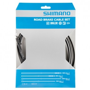 kit Cables et gaines de freins Route PTFE Shimano