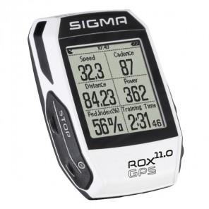 GPS SIGMA ROX 11.0 WHITE SET