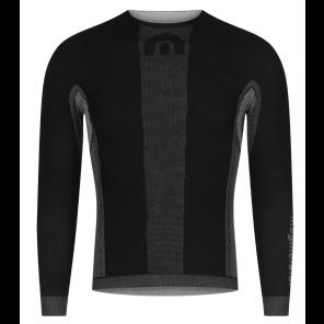 Sous-vêtement homme Megmeister hiver à manches longues BLACK S/M